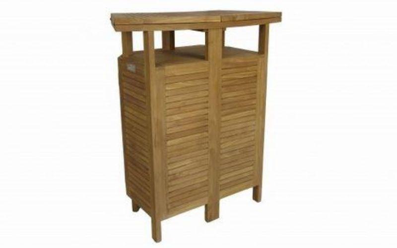 mueble bar teca